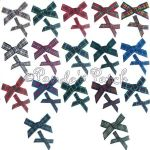 7mm or 10mm Tartan Ribbon Bows